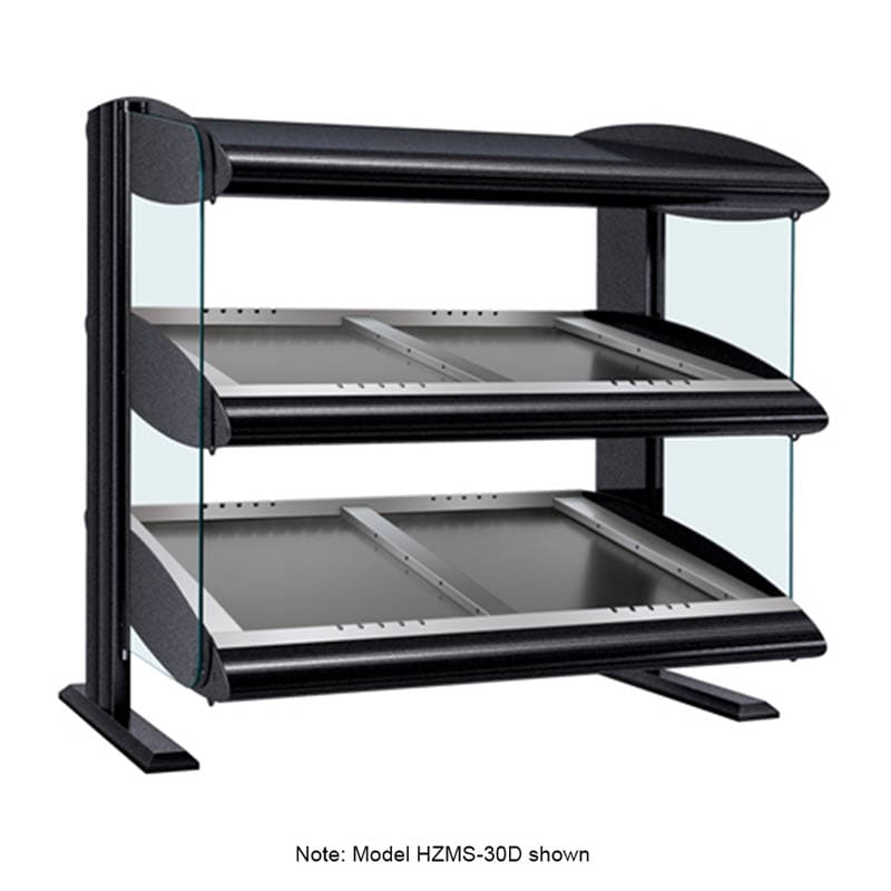 "Hatco HZMS-48D 51.9"" Self-Service Countertop Heated Display Shelf - (2) Shelves, 120v/208v/1ph"
