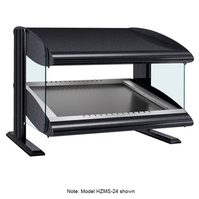 "Hatco HZMS-54 57.9"" Self-Service Countertop Heated Display Shelf - (1) Shelf, 120v"
