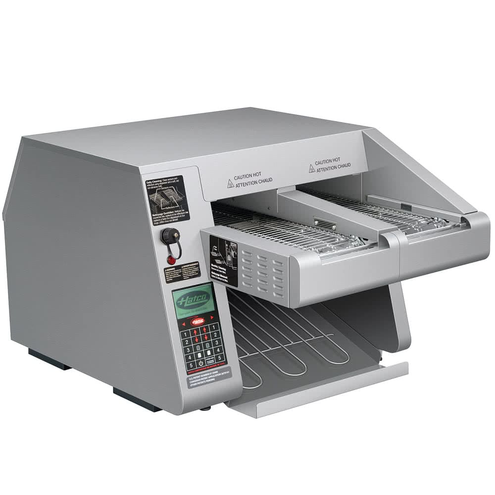 "Hatco ITQ-1750-2C Conveyor Toaster - 1800 Slices/hr w/ 2.22"" Product Opening, 208v/1ph"