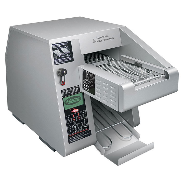 """Hatco ITQ-875-1C Conveyor Toaster - 900 Slices/hr w/ 2.21"""" Product Opening, 240v/1ph"""