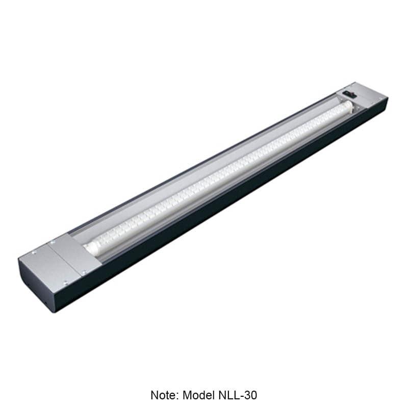 "Hatco NLL-60 60"" Narrow LED Display Light w/ 4-ft Bulb & 1.5"" Mounting Bracket, 10-watt"