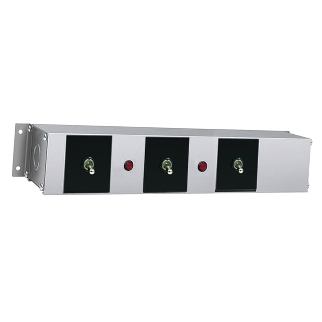 """Hatco RMB-14AG 14"""" Remote Control Box w/ 3-Toggle Switch & 2-Lights for 208v/1ph"""