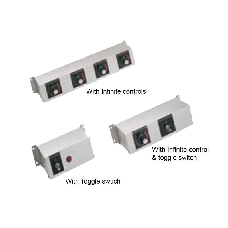 """Hatco RMB-14AN 14"""" Remote Control w/ Toggle, 2"""" Finite Switch & 2 Light, 240v/1ph"""