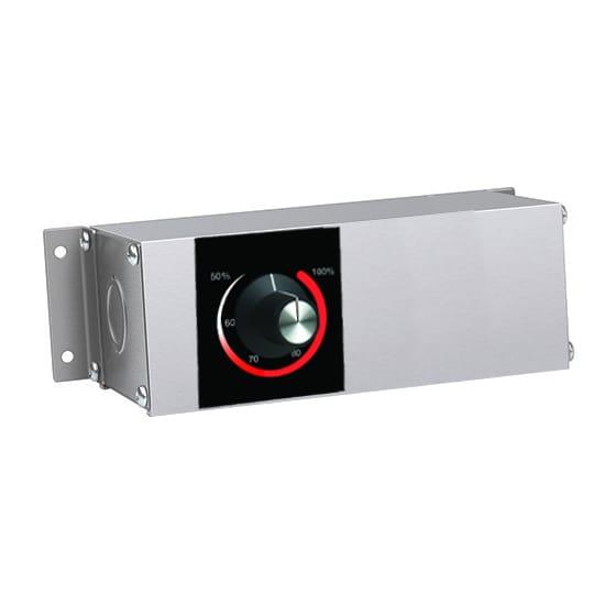 """Hatco RMB-3A 5.5"""" Remote Control Box w/ Infinite Switch for 120 V"""