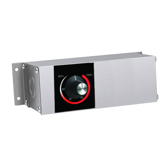 "Hatco RMB-3B 5.5"" Remote Control Box w/ Infinite Switch for 208v/1ph"