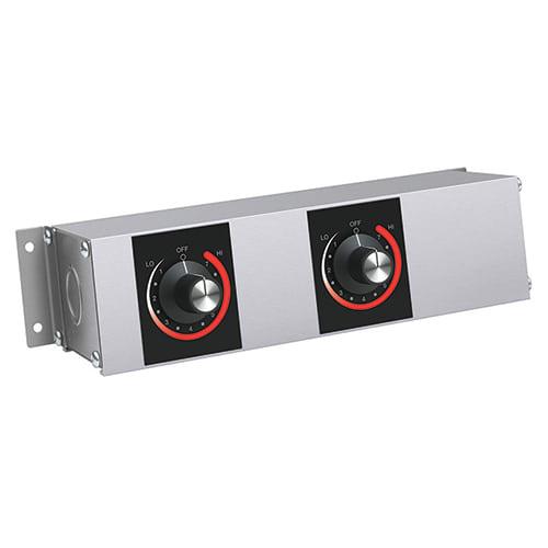 """Hatco RMB-7A Remote Control Enclosure w/ 2"""" Finite Switches"""