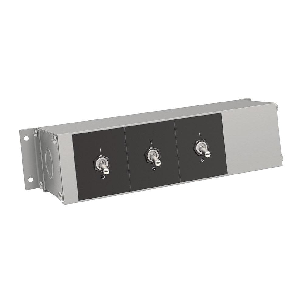 "Hatco RMB-7D 9"" Remote Control Box w/ 3 Toggle Switches for 120, 208, & 240v"