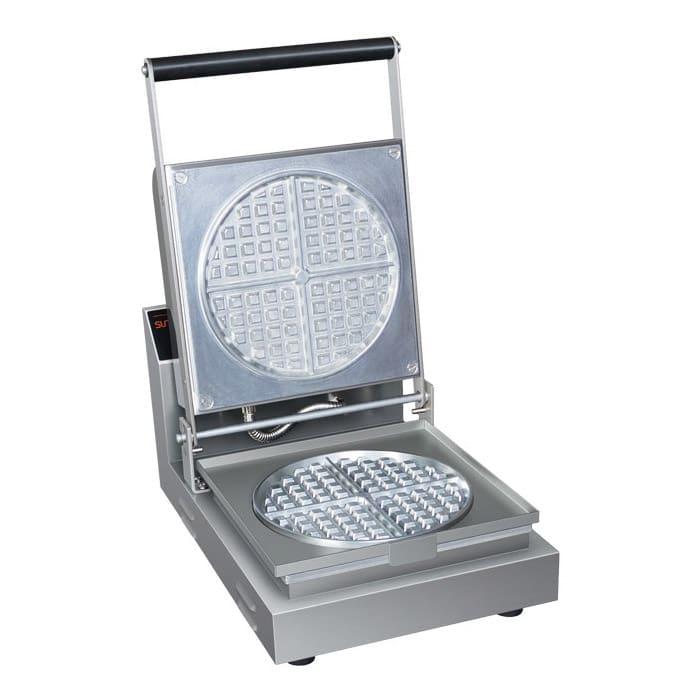 Hatco RWM-1B Single Classic Belgian Waffle Maker w/ Cast Aluminum Grids, 900W