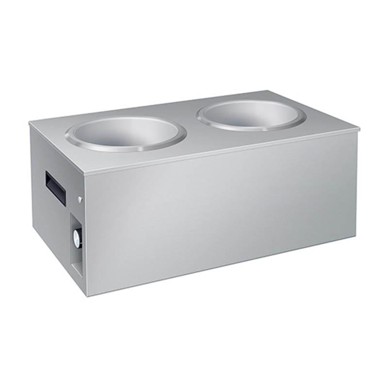 Hatco SW2-7QT (2) 7 qt Countertop Soup Warmer w/ Infinite Controls, 120v