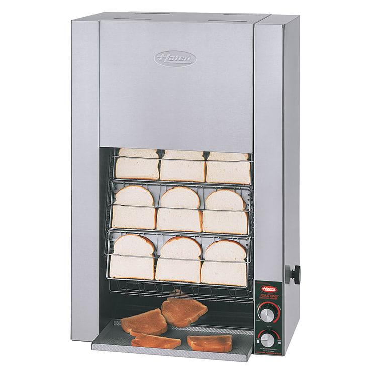 "Hatco TK-100 Vertical Toaster - 960-Slices/hr w/ 1.25"" Product Opening, 208v/1ph"