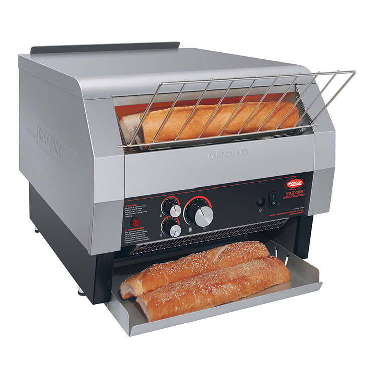 """Hatco TQ-1800H Conveyor Toaster - 1200-Slices/hr w/ 3"""" Product Opening, 240v/1ph"""