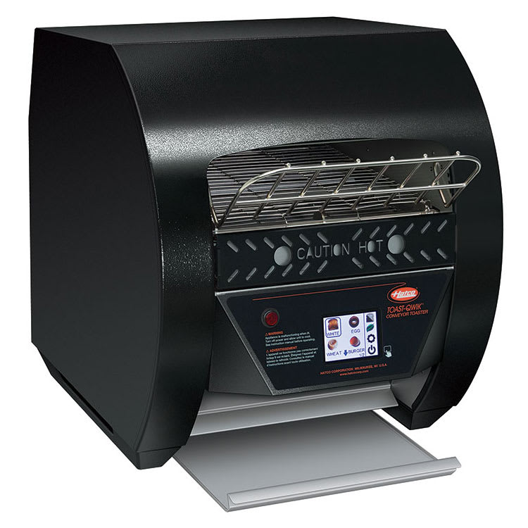 "Hatco TQ3-400 Conveyor Toaster - 420 Slices/hr w/ 2"" Product Opening, 120v"