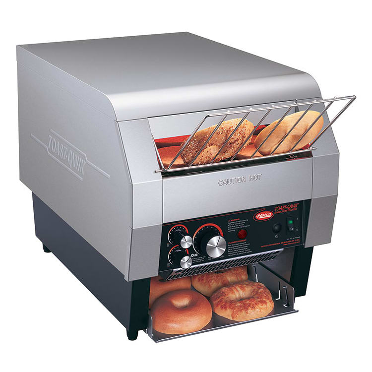 """Hatco TQ-400 Conveyor Toaster - 360 Slices/hr w/ 2"""" Product Opening, 208v/1ph"""