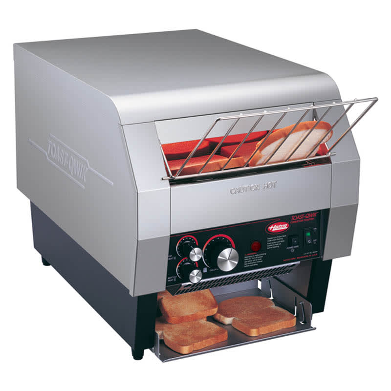 "Hatco TQ-400 Conveyor Toaster - 360-Slices/hr w/ 2"" Product Opening, 240v/1ph"