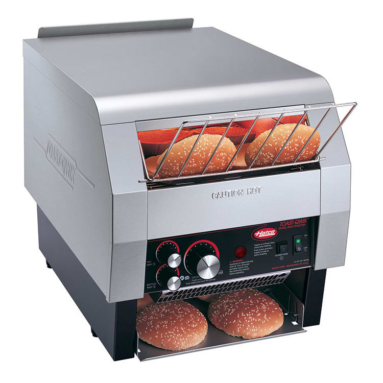 "Hatco TQ-800 Conveyor Toaster - 840-Slices/hr w/ 2"" Product Opening, 208v/1ph"