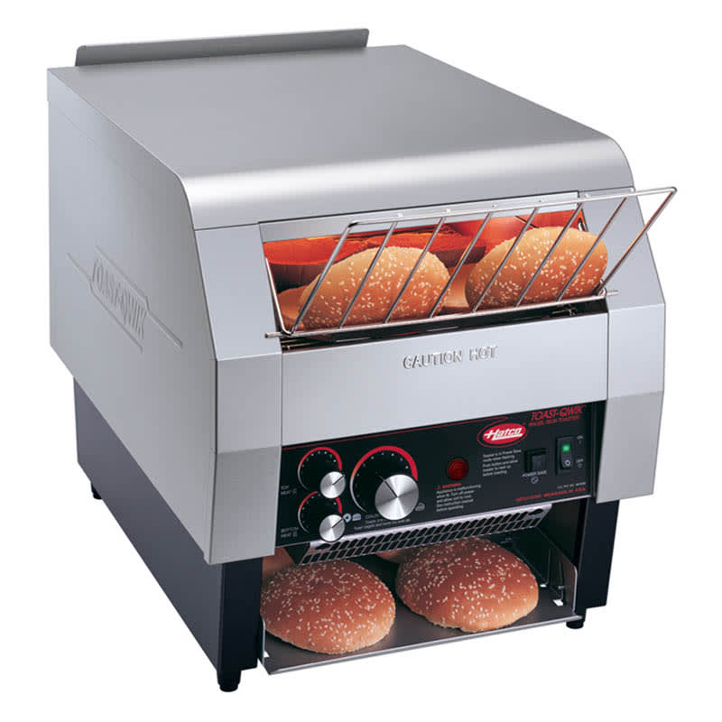 Hatco TQ-800H Conveyor Toaster, 2-3/4-in H Opening, 14-Slice/Min, Toasts 2 Sides