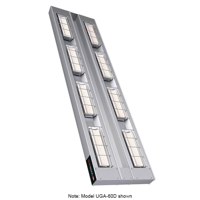 """Hatco UGA-18D3 18"""" Foodwarmer, Dual Ceramic Strip w/ 3-Spacing, 120 V"""