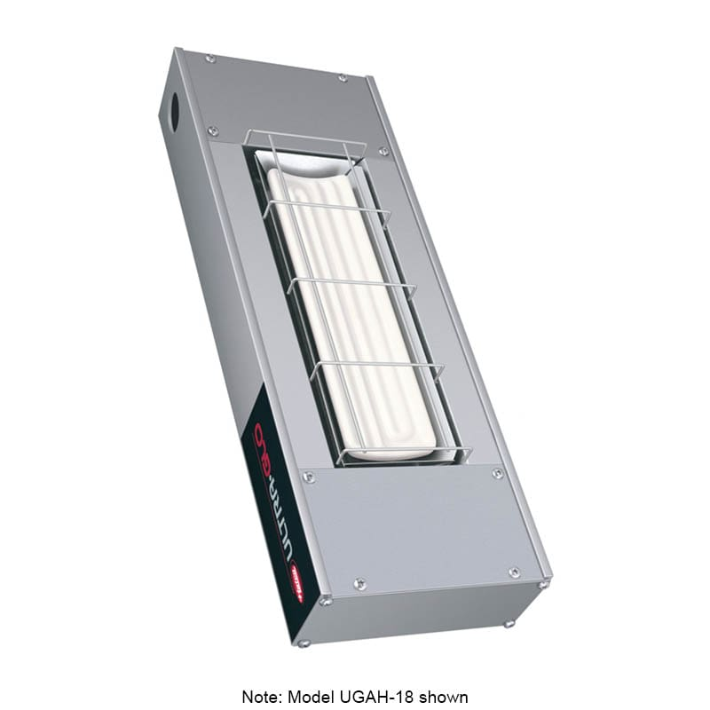 """Hatco UGAH-30 30"""" Foodwarmer w/ 1-Ceramic Strip & High Watt, 120 V"""
