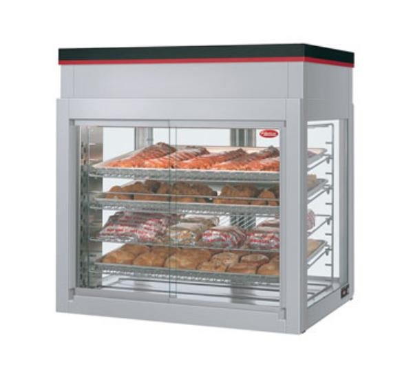 "Hatco WFST-2X 32.06"" Self-Service Countertop Heated Display Case - (4) Shelves, 120v"