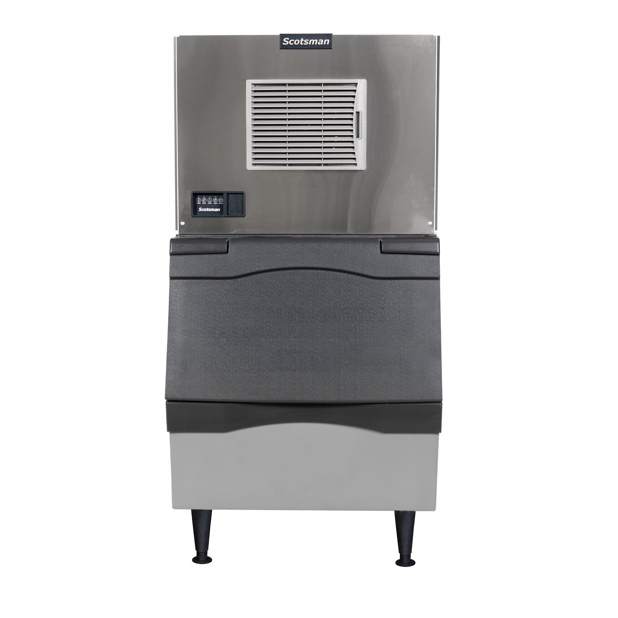 Scotsman C0330SA-1/B330P 350 lb. Prodigy Half Cube Ice Maker with Bin - 344 lb. Storage, Air Cooled, 115v