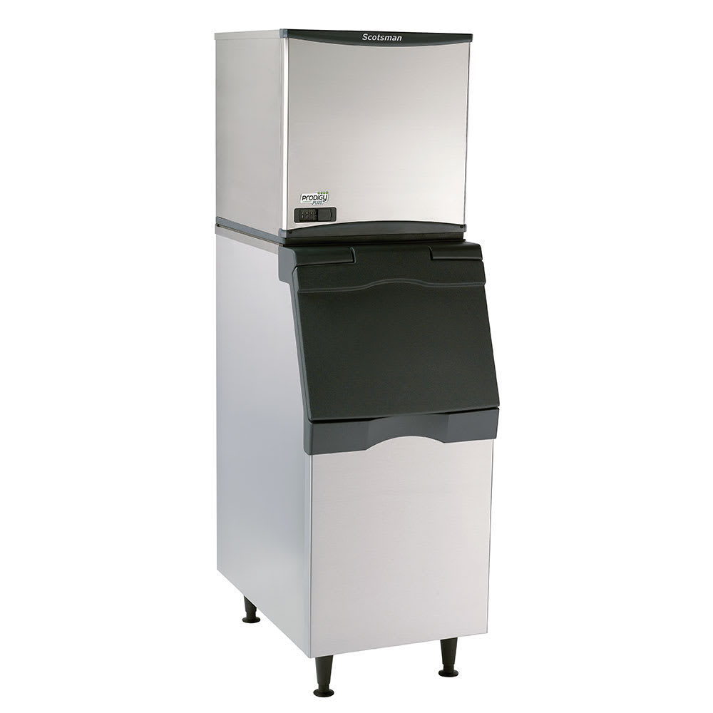 Scotsman C0522SA-1/B322S 475 lb. Prodigy Half Cube Ice Maker with Bin - 370 lb. Storage, Air Cooled, 115v