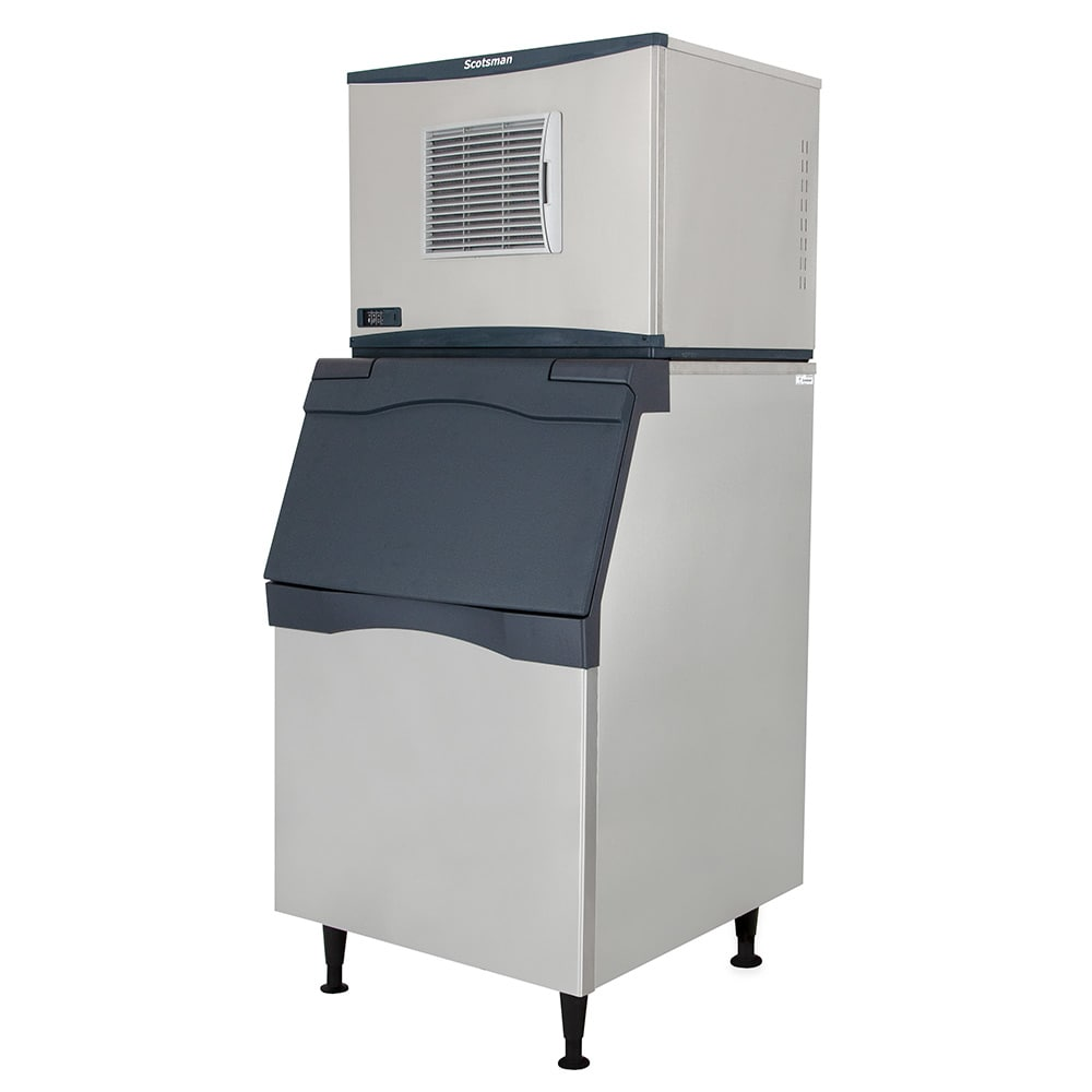 Scotsman C0630SA-32/B530P 776 lb. Prodigy Half Cube Ice Maker with Bin - 420 lb. Storage, Air Cooled, 208v/1ph