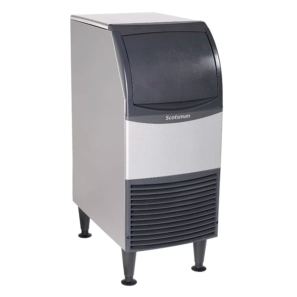 Scotsman Cu0415ma 1 Undercounter Full Cube Ice Maker 58 Lbs Day Air Cooled 115v