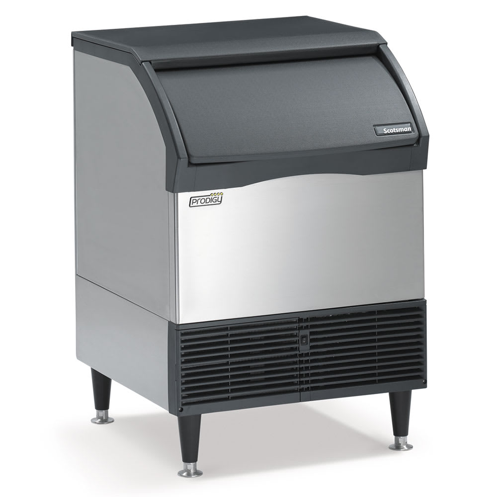 "Scotsman CU2026SW-1 39""H Prodigy® Half Cube Undercounter Ice Maker - 224 lbs/day, Water Cooled"