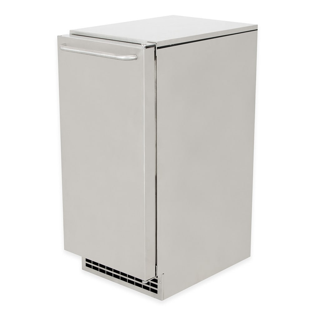Scotsman CU50GA-1 Undercounter Top Hat Ice Maker - 65-lbs/day, Gravity Drain, 115v