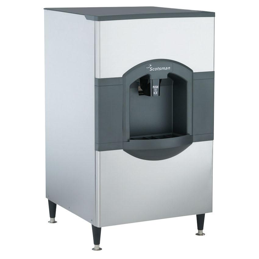 Scotsman HD30B-1 Floor Model Cube Ice Dispenser - 180 lb Storage, Bucket Fill, 115v