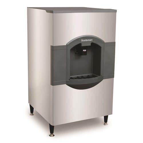 Scotsman HD30W-1 Floor Model Cube Ice Dispenser w/ 180 lb Storage - Bucket Fill, 115v