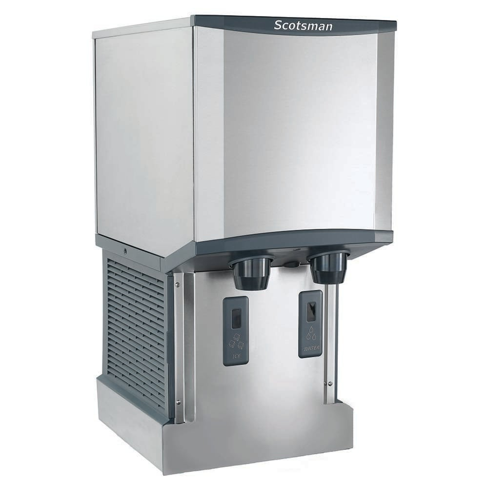 Scotsman HID312AW-1 Wall-Mount Nugget Ice Dispenser w/ 12-lb Storage, Cup Fill, 115v