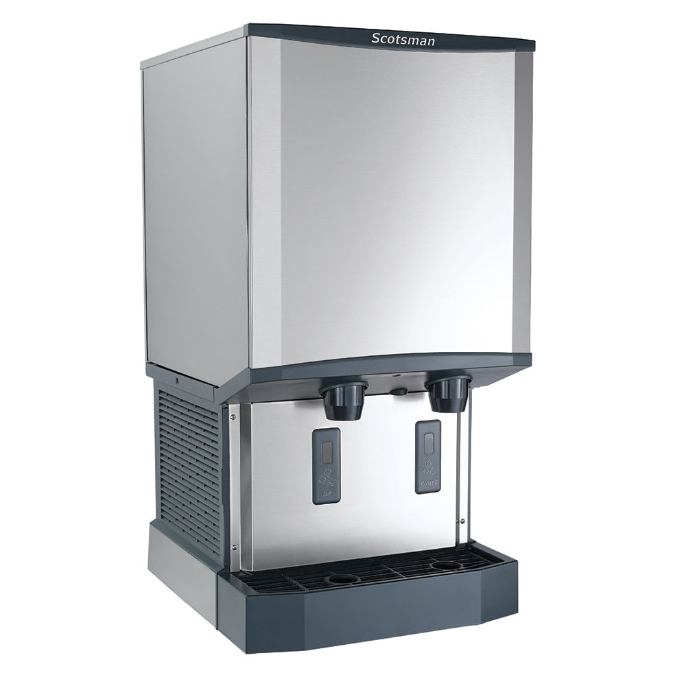 Scotsman HID540W-1 500 lb Countertop Nugget Ice & Water Dispenser - 40 lb Storage, Cup Fill, 115v