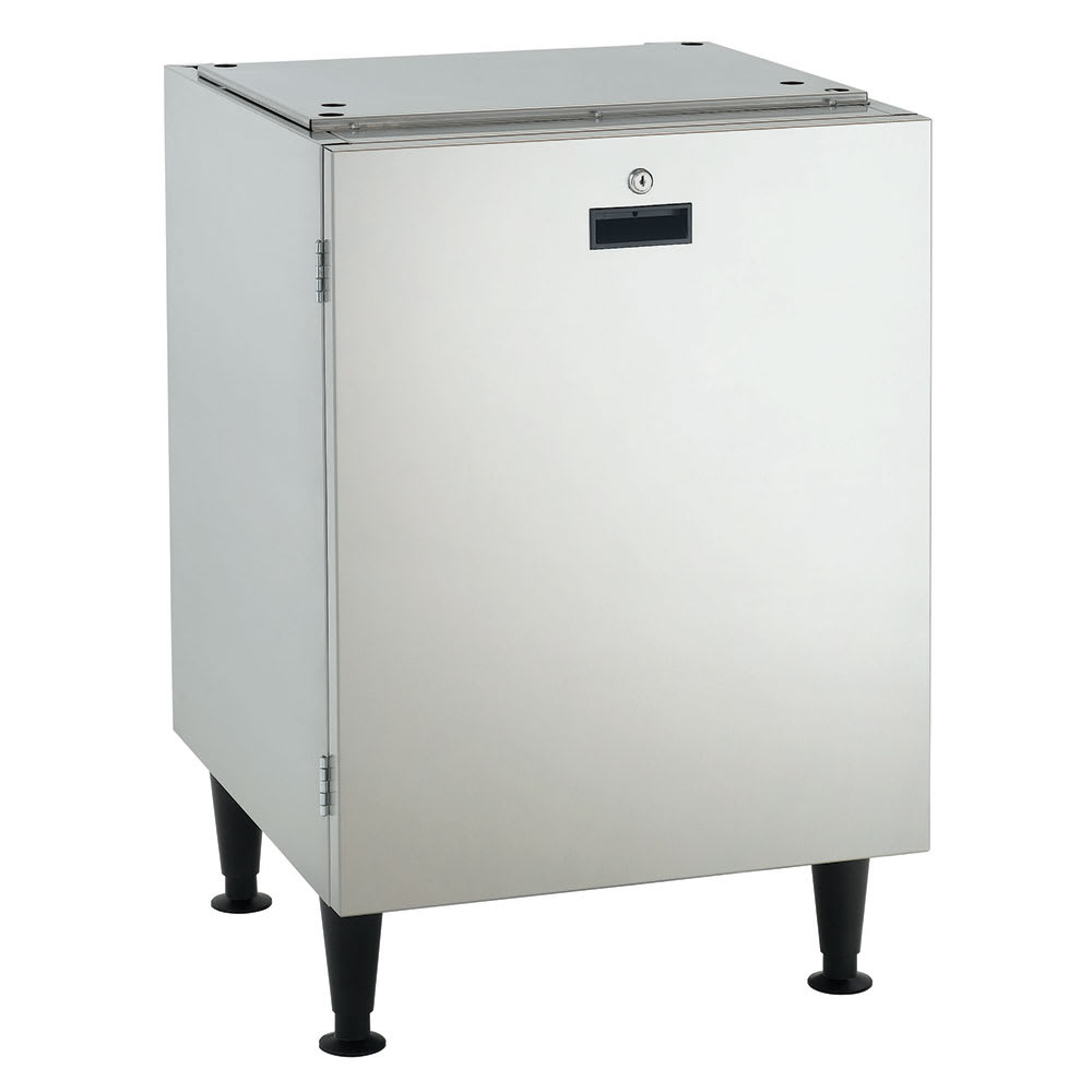 "Scotsman HST21-A 21.5"" x 23.75"" Stationary Equipment Stand for HID525 & HID540 Ice Maker Dispensers, Open Base"