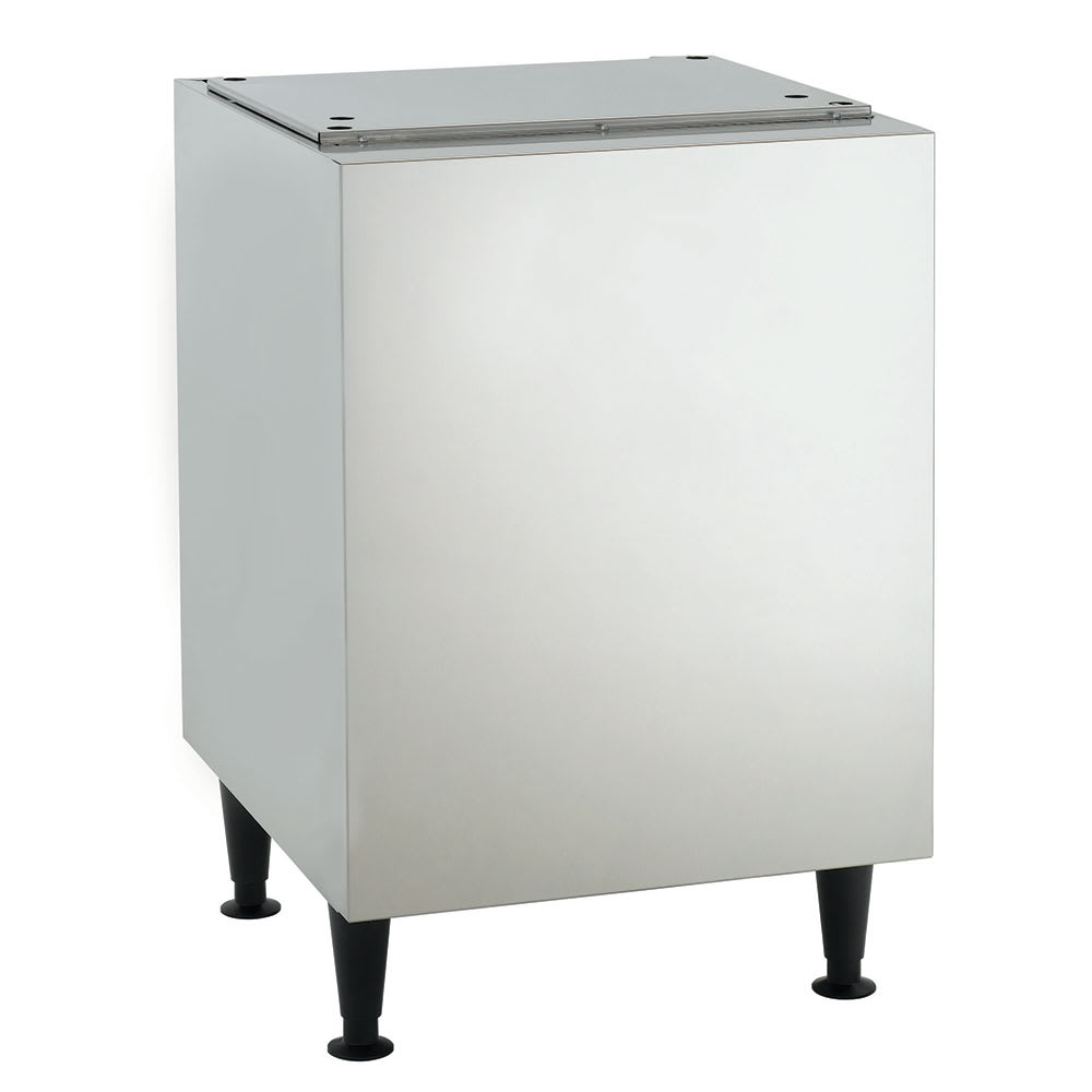 "Scotsman HST21B-A 21.5"" x 23.75"" Stationary Equipment Stand for HID525 & HID540 Ice Maker Dispensers, Enclosed Base"