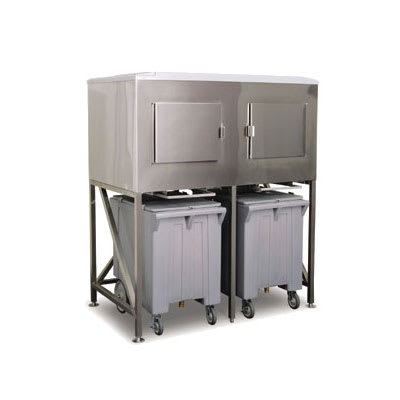Scotsman ICS-2 Ice Express System w/ Side-Hinged Door & (2) Bay, 1200-lb Storage Capacity