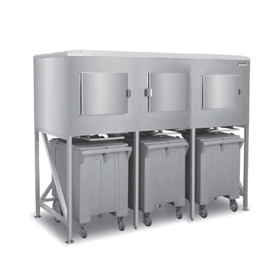 Scotsman ICS-3 Ice Express System w/ Side-Hinged Door & (3) Bay, 1800 lb Storage Capacity