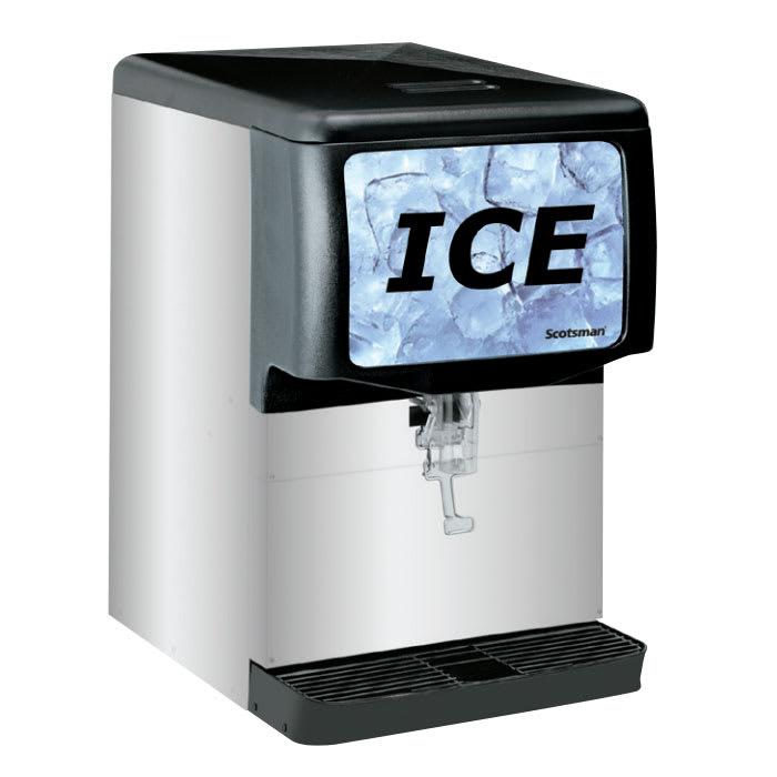 Scotsman ID150B-1 Countertop Cube Ice Dispenser w/ 150 lb Storage - Cup Fill, 115v