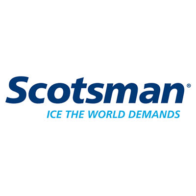 Scotsman KDFB Door Panel Front Kit for SCCG50M1BU & SCCP50M1BU Ice Makers, Black