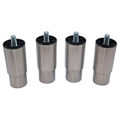 "Scotsman KLP8S 6"" Leg Kit for Bx22,Bx30, B842 & B948 Bins, HD Dispensers, Stainless"