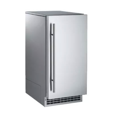 Scotsman SCN60GA1SS Undercounter Nugget Ice Maker - 80-lbs/day, Gravity Drain, 115v