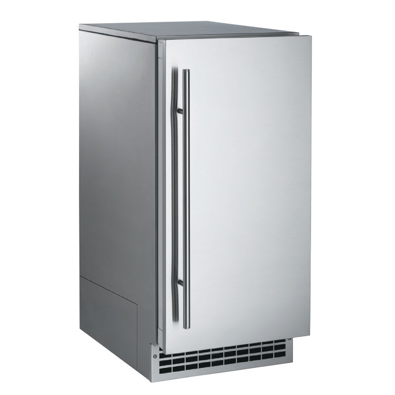 Scotsman SCN60PA1SS Undercounter Nugget Ice Maker - 80-lbs/day, Pump Drain, 115v