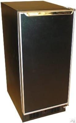 Scotsman SCR331BA Compact Refrigerator w/ 3-Glass Shelves & 2-Door Bins, 3-cu ft