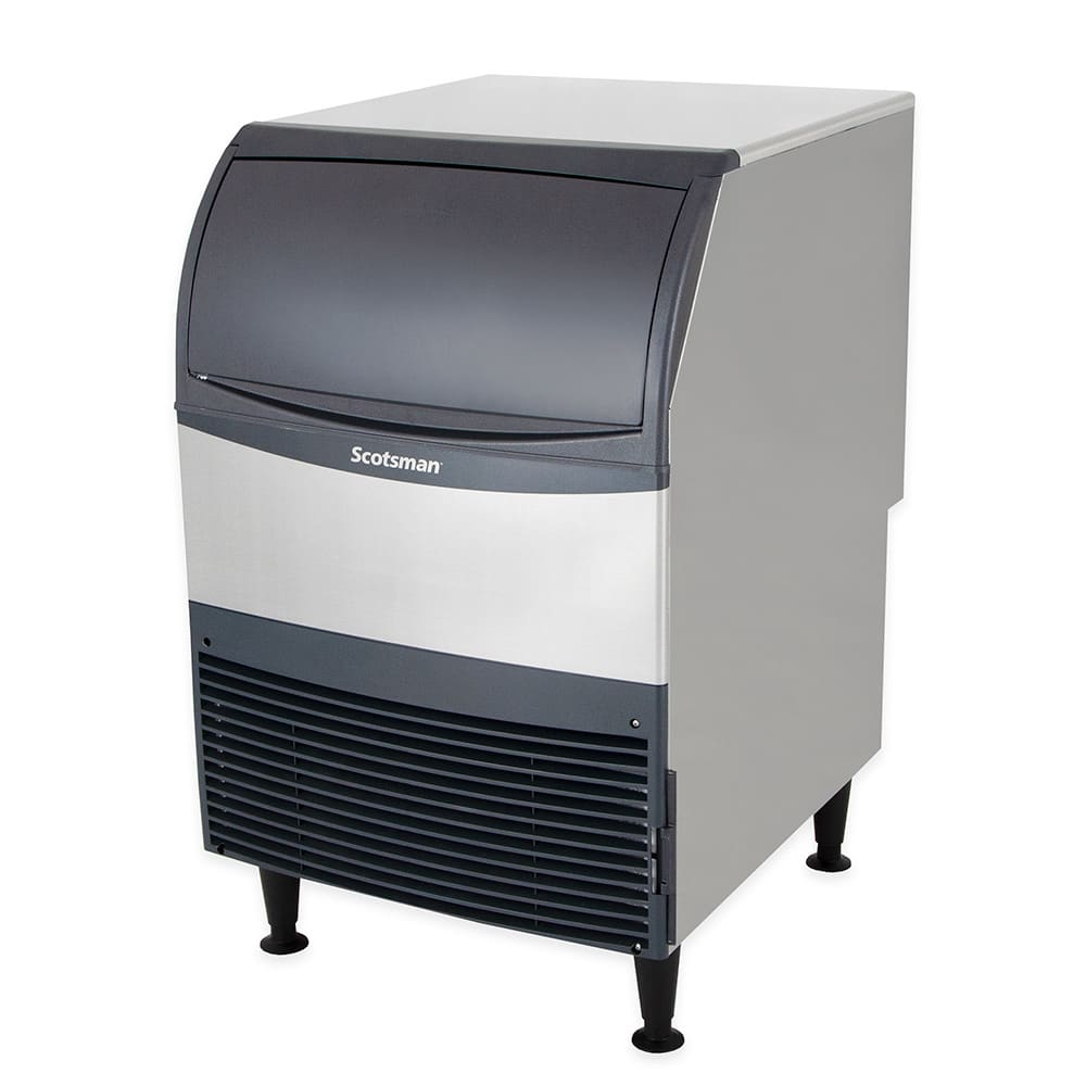 Scotsman UN324W-1 Undercounter Nugget Ice Maker - 340 lbs/day, Water Cooled, 115v