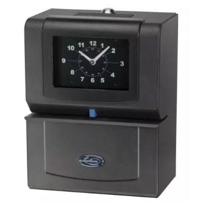 Lathem 4026 Time Clock, Prints Day Of Week, 0 23 Hours, Hundredths