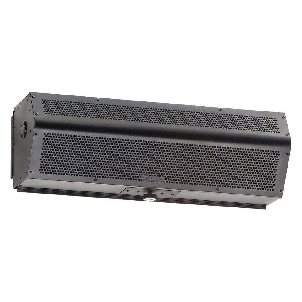 "Mars LPV225-1UA-OB/99-014 25"" Unheated Air Curtain w/ Auto Switch - Low Profile, Obsidian Black, 115v"