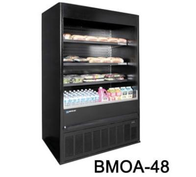 "Master-bilt BMOA-74 78"" Vertical Open Air Cooler w/ (4) Levels, 208v/1ph"