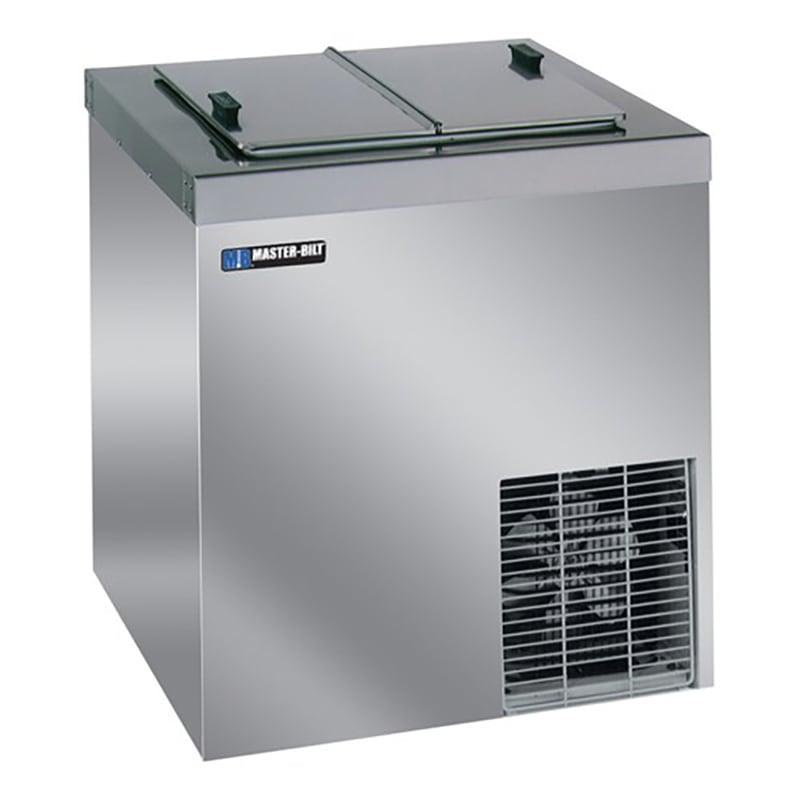"Master-bilt DC-4DSE 30.63"" Stand Alone Ice Cream Freezer w/ 5 Tub Capacity & 2 Tub Storage, 115v"