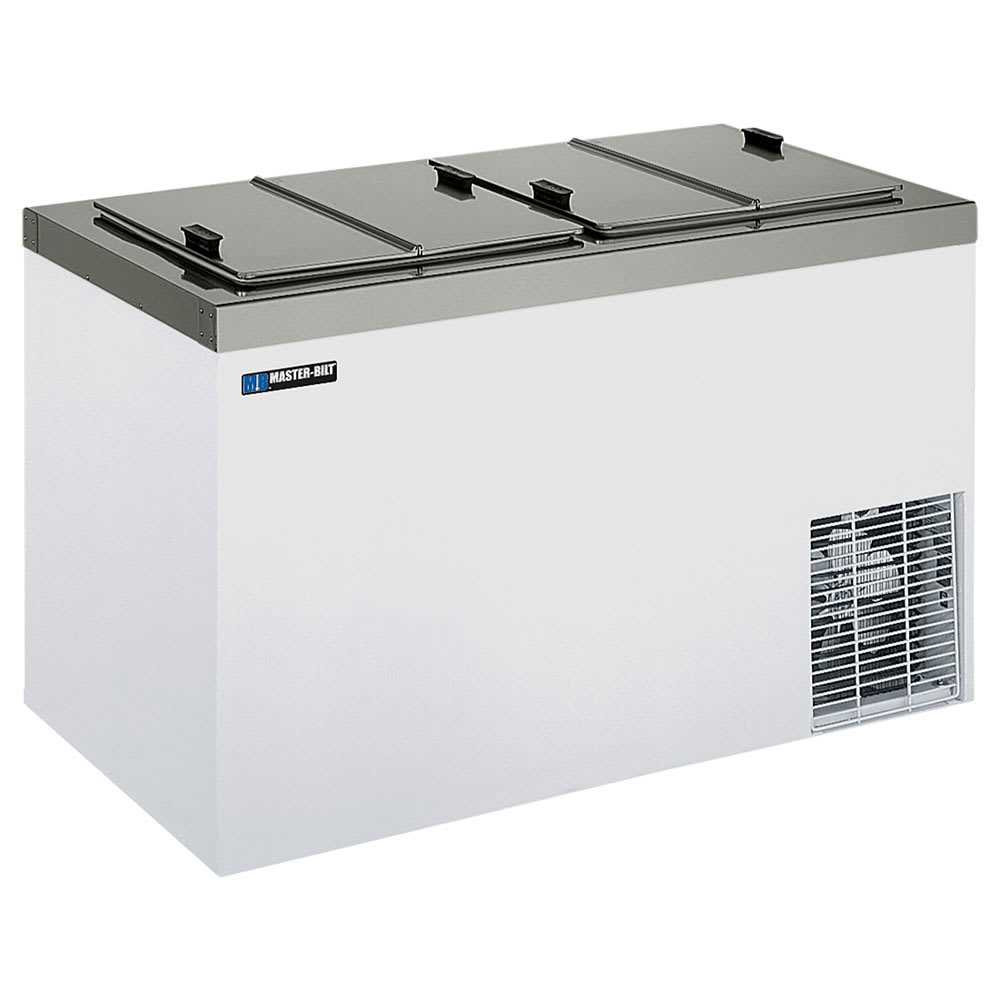 "Master-bilt DC-8D 54"" Stand Alone Ice Cream Freezer w/ 11-Tub Capacity & 8-Tub Storage, 115v"