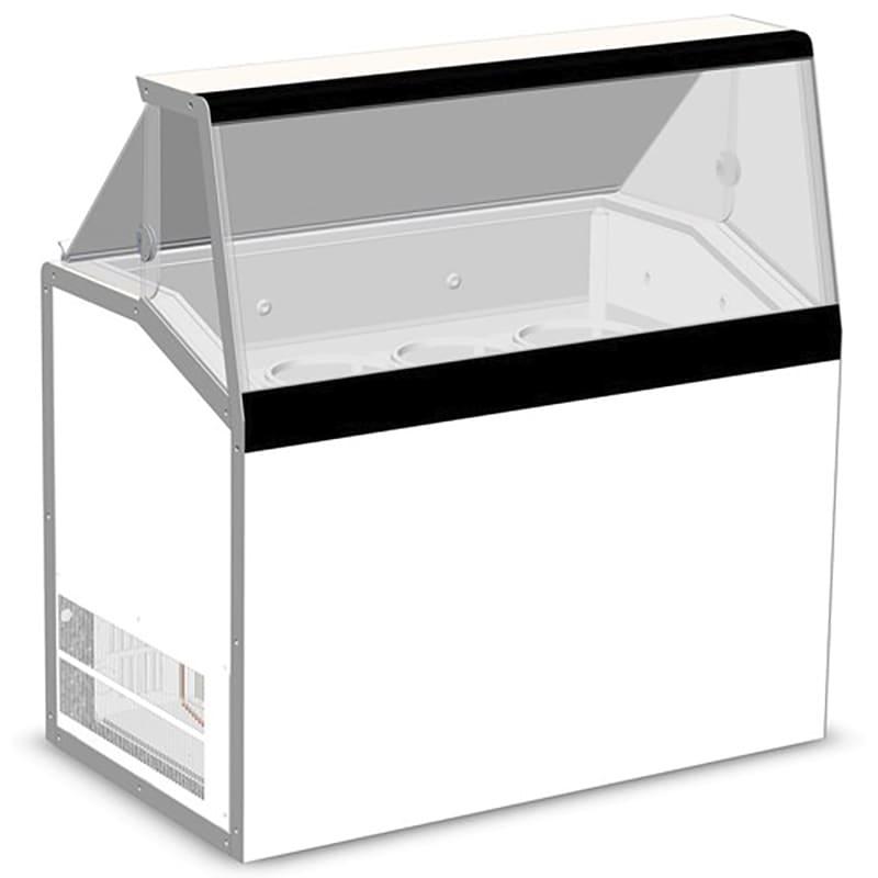 "Master-bilt DD-46L 47.75"" Stand Alone Ice Cream Freezer w/ 8 Tub Capacity & 4 Tub Storage, 115v"
